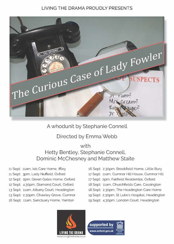 Curious Case of Lady Fowler Poster
