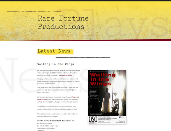Rare Fortune Productions