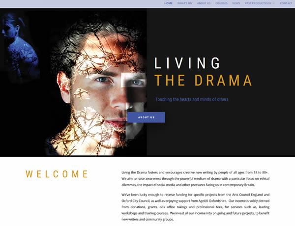Living the Drama website